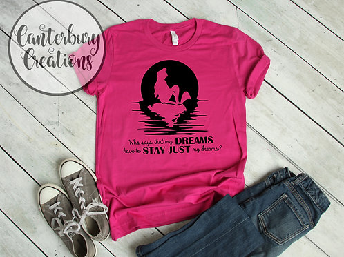 Little Mermaid Silhouette Shirt