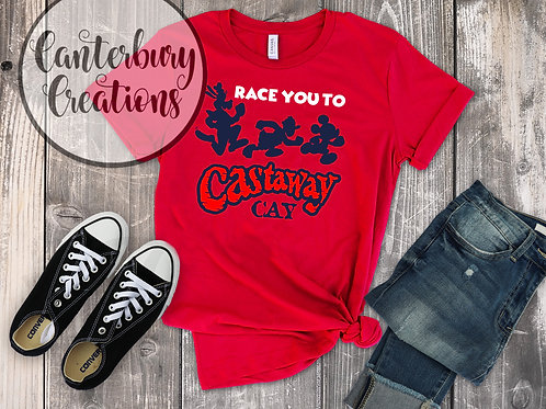 Race you to Castaway Cay Shirt