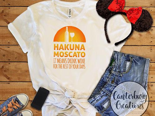 Hakuna Moscato Adult T-Shirt