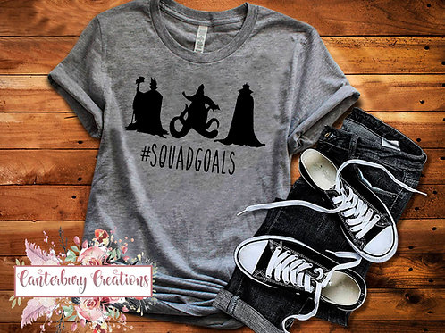Villain Squad Goals Shirt