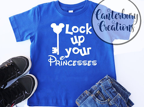 Lock up your Princesses Toddler T-Shirt