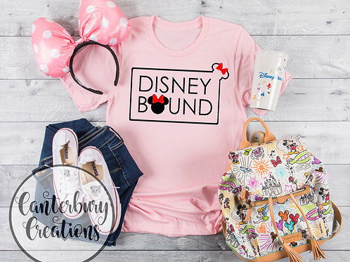 Disney Bound Box Shirt