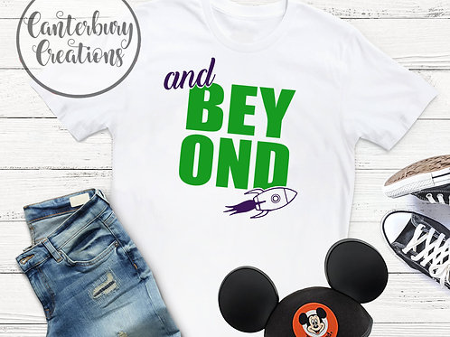 And Beyond Adult T-Shirt
