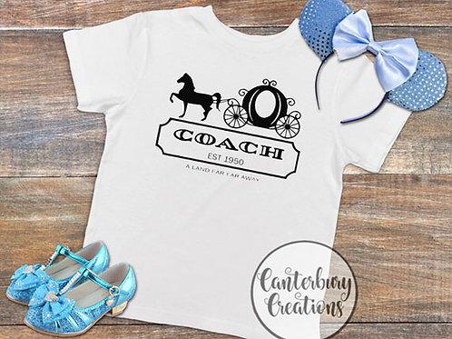 Coach Toddler T-Shirt