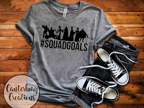 Villain Squad Goals Shirt
