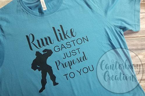 Run Like Gaston Just Proposed Shirt