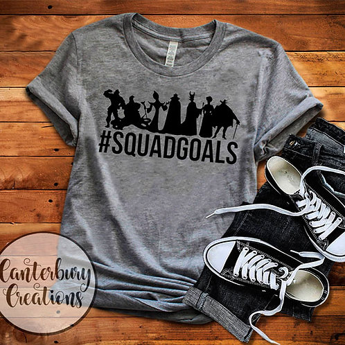 Villain Squad Goals Youth T-Shirt