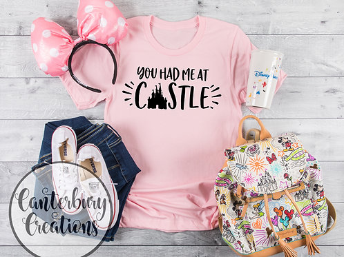 You had me at Castle Shirt