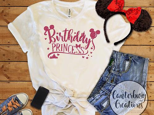 Birthday Princess Adult T-Shirt