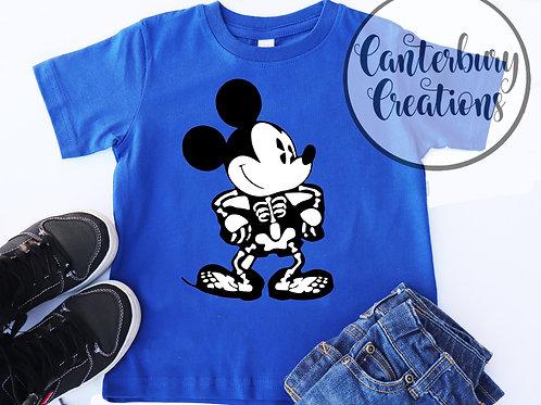 Mickey Skeleton Toddler T-Shirt