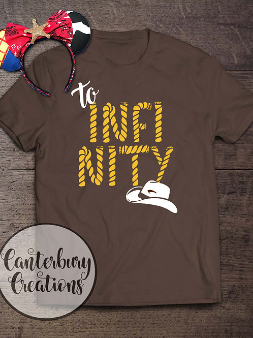 To Infinity Adult T-Shirt