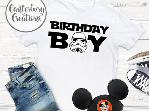 Stormtrooper Birthday Boy Shirt