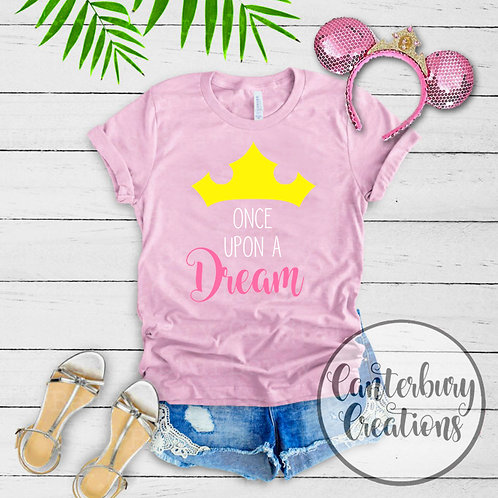 Once Upon A Dream Adult T-Shirt