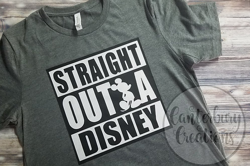 Straight Outta Disney Shirt