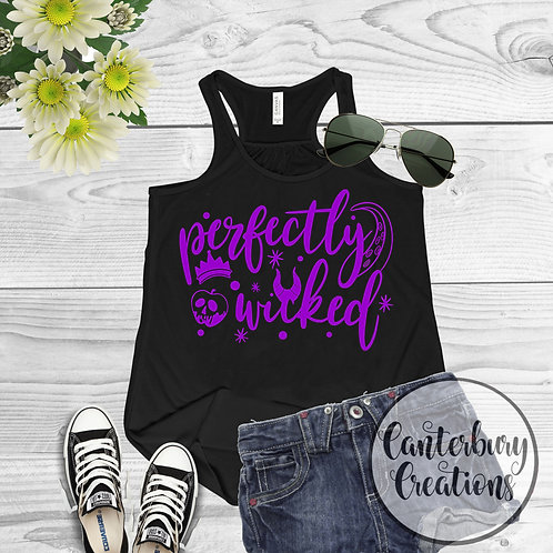 Perfectly Wicked Ladies Racerback Tank Top