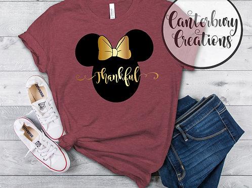 Thankful Minnie Mouse Shirt