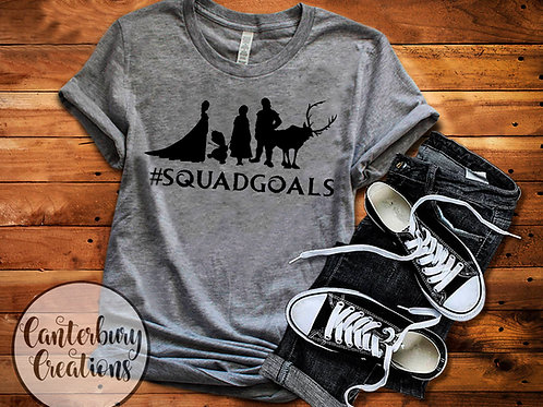 Frozen Squad Goals Shirt