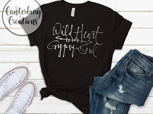 Wild Heart Gypsy Soul Shirt