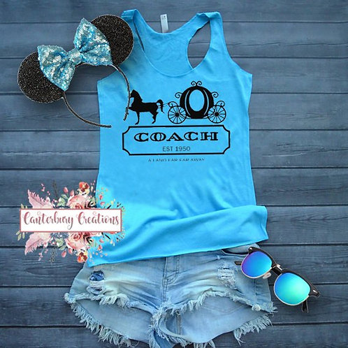 Coach Ladies Racerback Tank Top