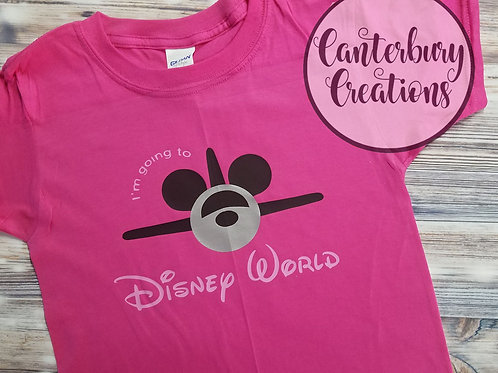 I'm going to Disney World Toddler T-Shirt
