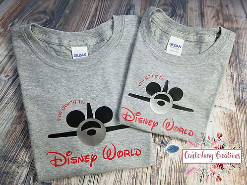 I'm going to Disney World Adult T-Shirt