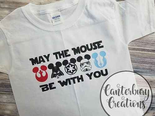 May the Mouse be with You Youth T-Shirt