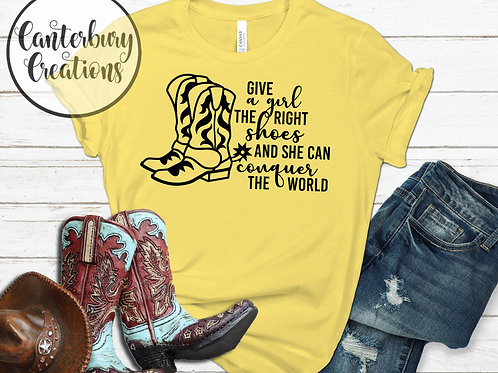 The right shoes Shirt