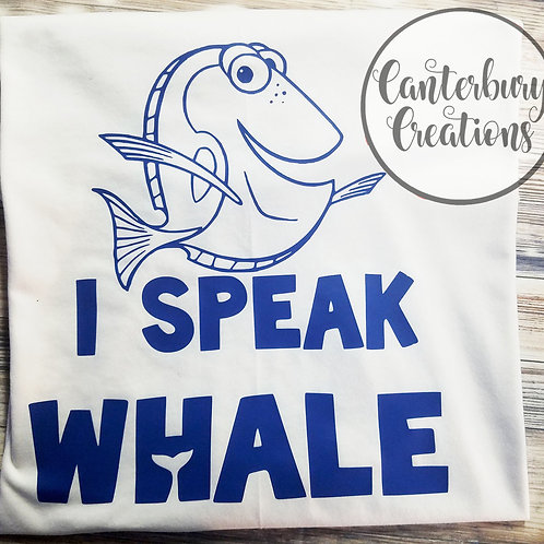 I Speak Whale Shirt