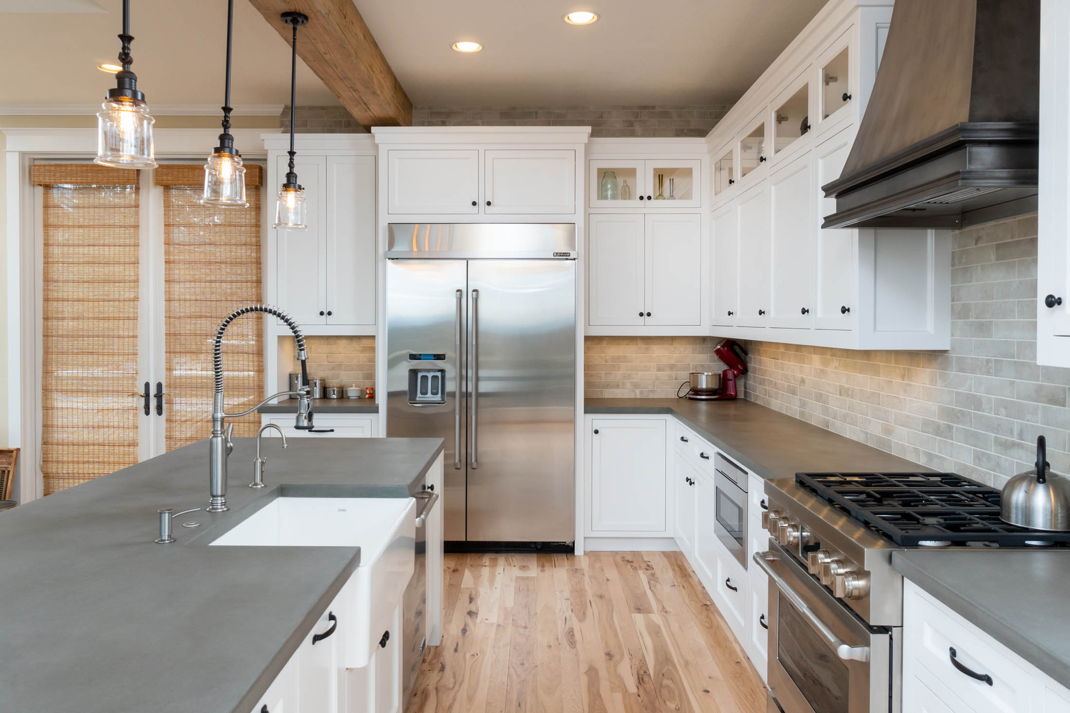 kitchen by Sun Forest Const.