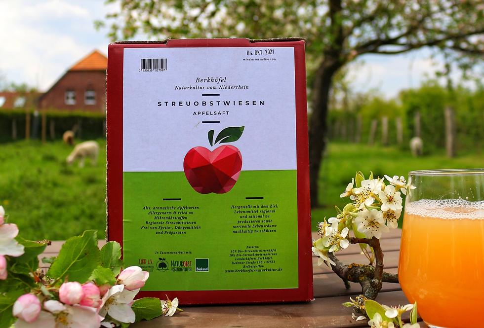 Streuobstwiesen Apfelsaft (bag-in-box)
