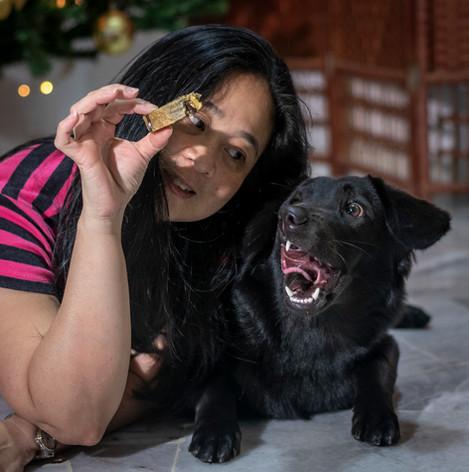 Cindy Teasing Cardi