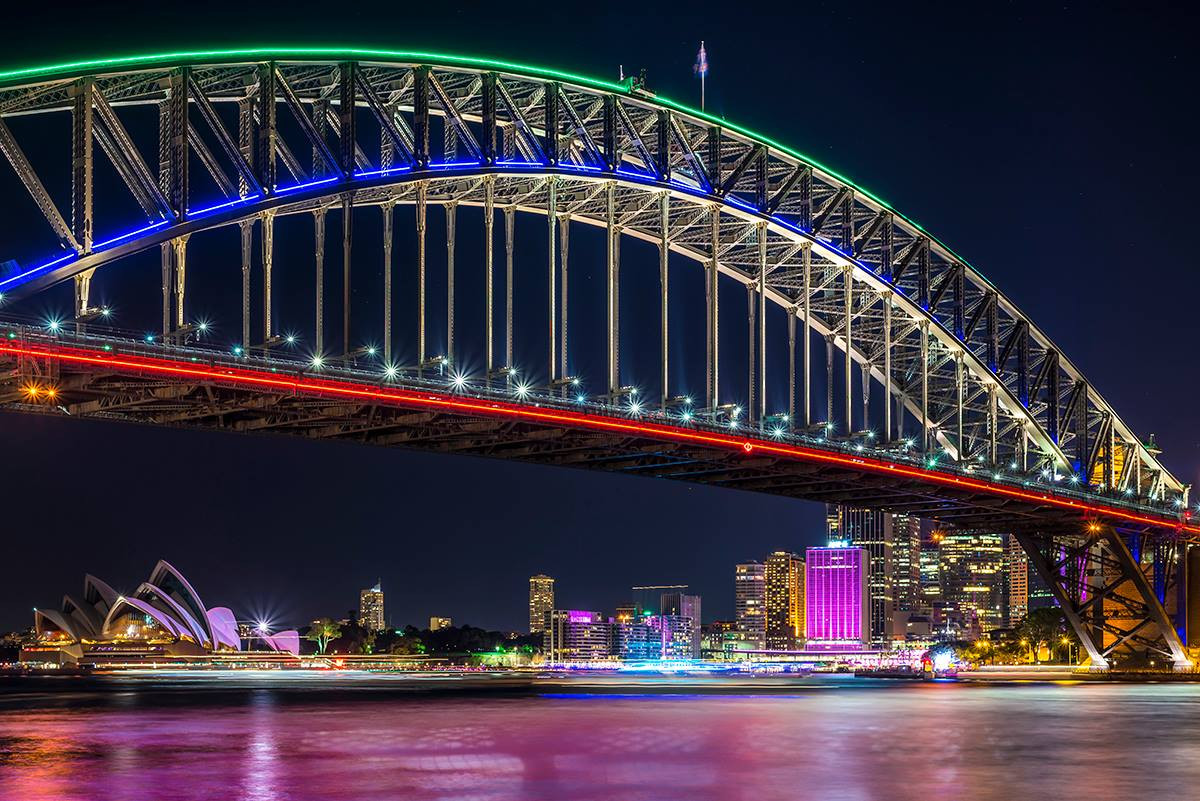Vivid Sydney From Milsons Point