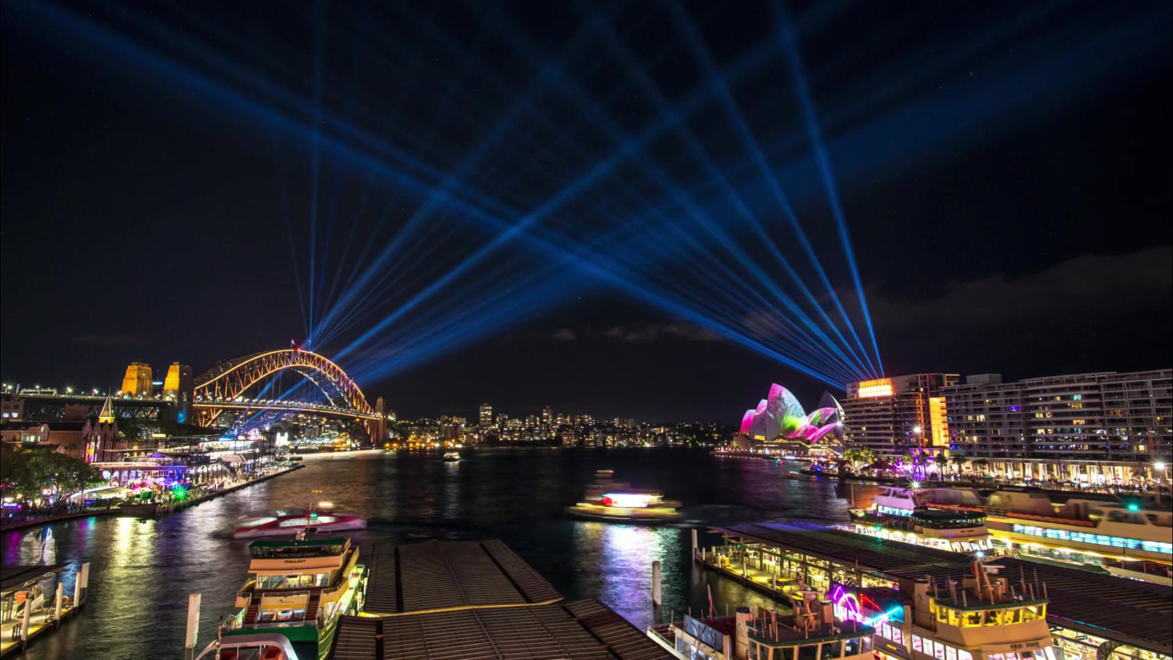 Vivid Sydney 2018 - The Final Countdown