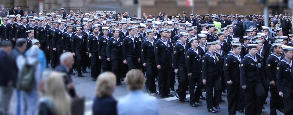 Sydney's ANZAC Day march