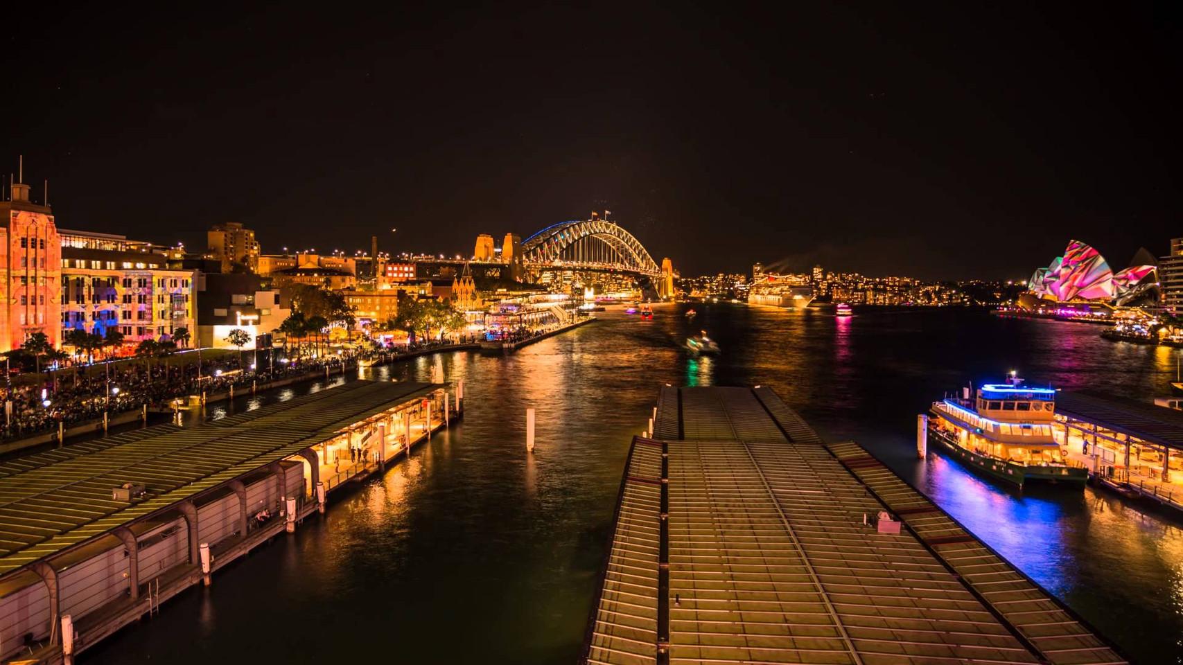 Vivid Sydney 2014 Timelapse