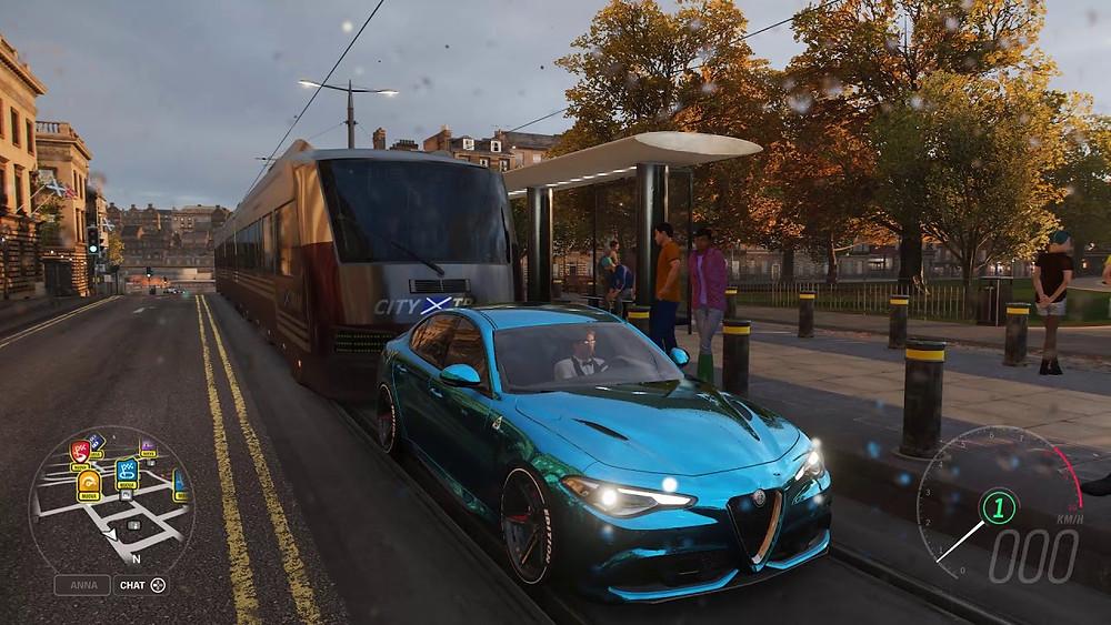 forza horizon 4 edinburgh trams