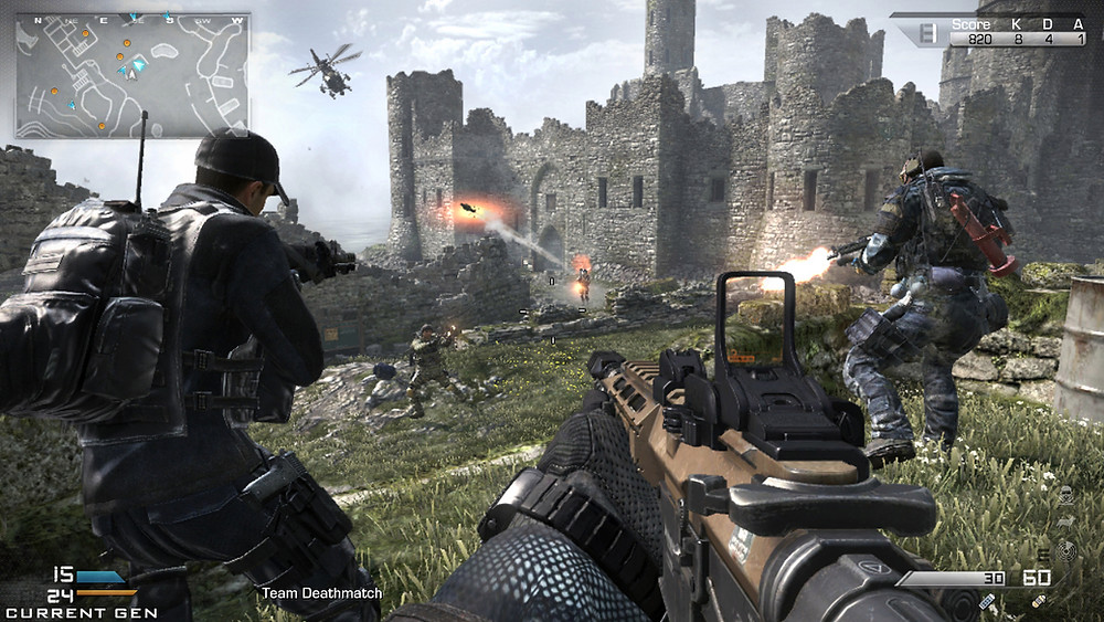 call of duty ghosts stonehaven map