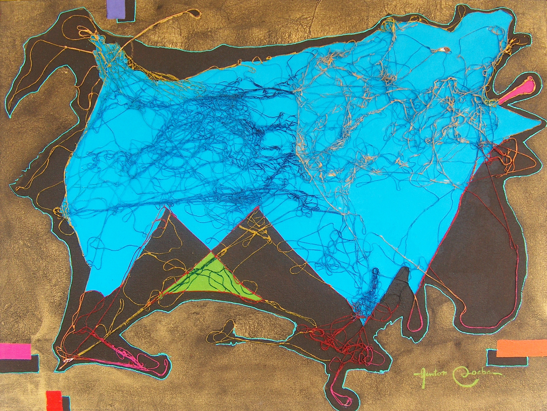 ANGRY DOG II (poliptico piece).