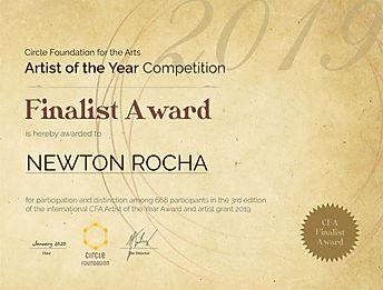 CFA-ArtistoftheYear - Finalist Award - N