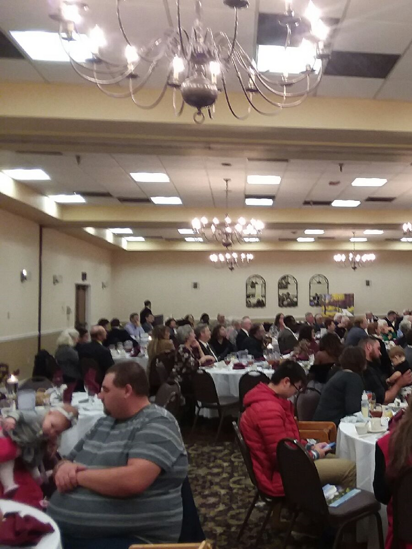 Full House at 12th Banquet