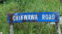chikwawa road sign