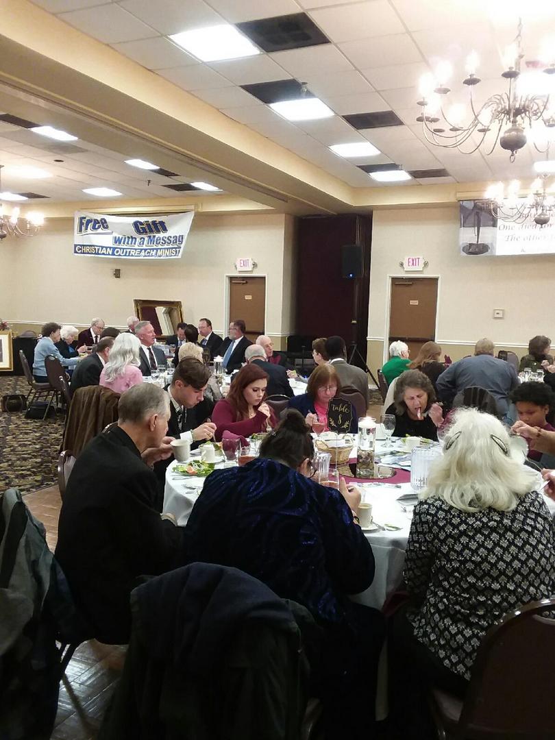 Agora 12th Banquet fellowship
