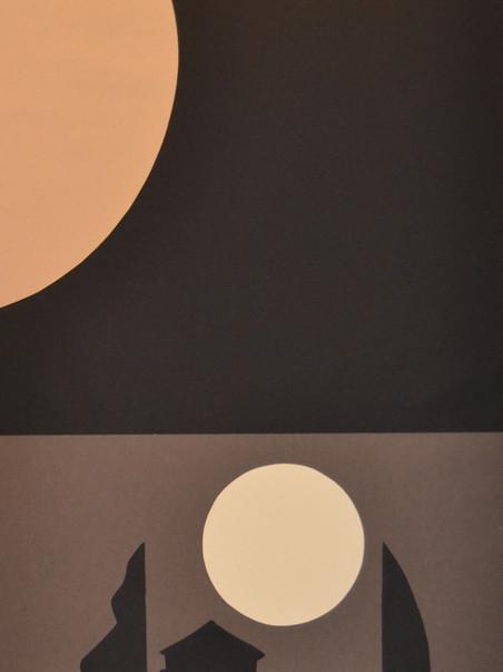 Nocturno I. 2020 (110X49cm) Cartulina recortada