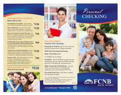 Personal Checking Pamphlet