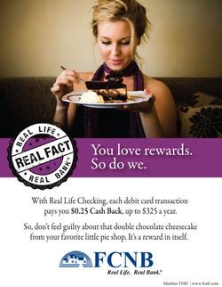 FCNB Real Life Campaign - Rewards