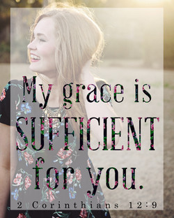 """My Grace Is"" Wall Art"