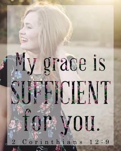 """""""My Grace Is"""" Wall Art"""