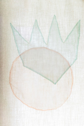Hand-sewn drapes