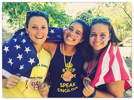 Live your best life. Make new friends. Summer job at The English Camp Company
