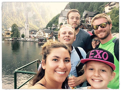 Hallstatt - day trip with host families